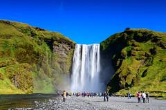 朝聖(DSC_1496) (nans0410(busy)) Tags: iceland waterfall skógafoss 冰島 彩虹瀑布 史可加瀑布