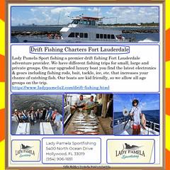Drift Fishing Boats in Fort Lauderdale (ladypamela710) Tags: lauderdale drift fishing fort