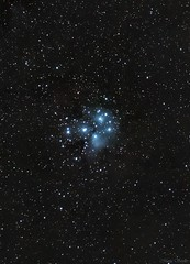 M45 - The Pleiades (martaseidler) Tags: astrophotography pleiades stars astronomy nightsky nebula night sky