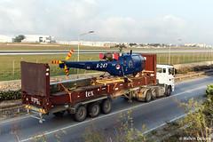 Royal Netherlands Air Force Aérospatiale SA 316B Alouette III  |  A-247  |  Malta (Melvin Debono) Tags: royal netherlands air force aérospatiale sa 316b alouette iii | a247 malta cn 1247 rnlaf dutch melvin debono spotting spotters spotter helicopter helicopters heli airport aircraft aviation mla