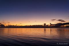 20190912-30-Sunset from beach (Roger T Wong) Tags: 2019 aitutaki cookislands pacific pacificisland rogertwong sel24105g sony24105 sonya7iii sonyalpha7iii sonyfe24105mmf4goss sonyilce7m3 evening holiday island sea sunset travel