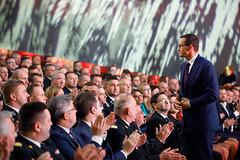 """Gala Finałowa Programu """"ORLEN dla Strażaków"""" (19.09.2019) (Prawo i Sprawiedliwość) Tags: pis prawoisprawiedliwość premier mateuszmorawiecki"""
