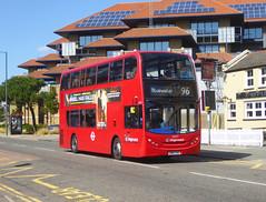SLN 12297 - SN14TXS - WATLING STREET BEXLEYHEATH - WED 18TH SEPT 2019 (Bexleybus) Tags: stagecoach london selkent 12297 sn14txs 96 watling street adl dennis enviro 400 hybrid tfl route bexleyheath kent da7