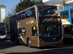 Stagecoach ADL Enviro 400 (Scania N230UD) 15938 YN63 BYD (Alex S. Transport Photography) Tags: outdoor vehicle stagecoach stagecoachmidlandred stagecoachmidlands bus road stagecoachgold off route unusual routex46x47branding route16 15938 yn63byd adlenviro400 enviro400 e400 scania n230ud