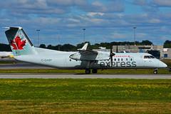 C-GABP (Air Canada express - JAZZ) (Steelhead 2010) Tags: aircanada aircanadaexpress jazz dehavillandcanada dhc8 dhc8300 yul creg cgabp
