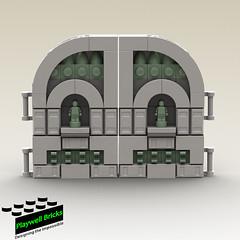 Gate Concept (Playwell Bricks) Tags: lego legotechniques legoideas legophotography legopictures legoart art design creativity toys toyphotography