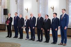 Powołania do Rady Ministrów (20.09.2019) (Prawo i Sprawiedliwość) Tags: pis prawoisprawiedliwość premier mateuszmorawiecki radaministrów mariuszkamiński