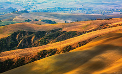 Fashion of Sienese Clays (@Jarmila) Tags: sienese clays tuscany italy crete senesi landscape borgo lines rolling outdoors nature pienza val dorcia travel green autumn natural unesco cultural park canon dream jarmila
