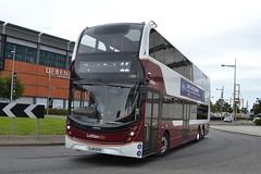 Lothian Buses Volvo B8L 1088 SJ19OXD - Edinburgh (dwb transport photos) Tags: lothianbuses lothiancityvolvo alexander dennis enviro 400lxb bus decker 1088 sj19oxd leith edinburgh