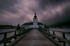 Seeschloss Ort (lfeng1014) Tags: gmunden traunseelake seeschlossort castle bridge landscape canon5dmarkiii ef2470mmf28liiusm longexposure 130seconds austria lake travel lifeng austriancastle