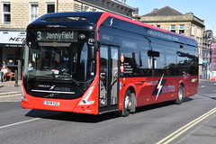 803 - BV18XZC (DavidsBuses) Tags: harrogatedistrict volvo7900e electricbus volvo 803 bv18 bv18xzc