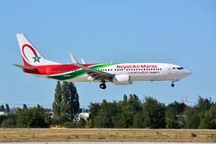 (ORY)RAM  Boeing 737-800  CN-ROU Landing runway 06 (dadie92) Tags: orly ory lfpo ram royalairmaroc boeing b737 b737800 cnrou landing runway06 spotting aicraft airplane newlivery nikon d7100 tamron sigma danieldanel