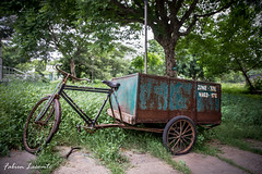 Trash cycle (Fabien L76) Tags: chennai gandhimandapam tamilnadu cycle