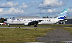EuroAtlantic CS-TST,  OSL ENGM Gardermoen (Inger Bjørndal Foss) Tags: cstst euroatlantic boeing 767 osl engm gardermoen
