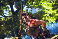 SP106244 (Patcave) Tags: saturday dragon con dragoncon 2019 dragoncon2019 cosplay cosplayer cosplayers costume costumers costumes shot comics comic book scifi fantasy movie film videogame god war goddess battle axe warrior