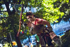 SP106247 (Patcave) Tags: saturday dragon con dragoncon 2019 dragoncon2019 cosplay cosplayer cosplayers costume costumers costumes shot comics comic book scifi fantasy movie film videogame god war goddess battle axe warrior