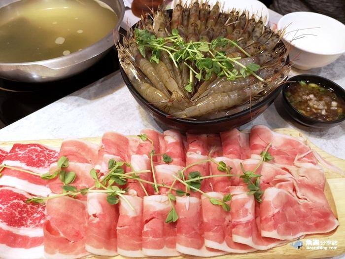 【台北士林】天棧鍋物│天母網美火鍋店│壽星幾歲生日就送幾隻蝦 @魚樂分享誌