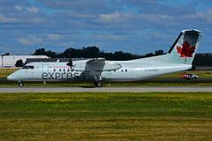 C-GABO (Air Canada express - JAZZ) (Steelhead 2010) Tags: aircanada aircanadaexpress jazz dehavillandcanada dhc8 dhc8300 yul creg cgabo