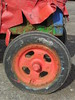 RGB wheel (Nekoglyph) Tags: skinningrove cleveland tractor beach rust metal red green blue wheel tyre tarpaulin