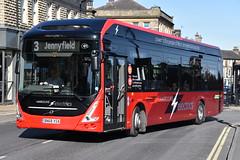 805 - BN68XSA (DavidsBuses) Tags: harrogatedistrict volvo7900e electricbus volvo bn68 bn68xsa 805