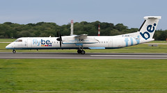 Flybe G-JECR Dash 8 EGCC 31.08.2019 (airplanes_uk) Tags: 31082019 aviation dash8 egcc flybe gjecr man manchesterairport planes avgeek