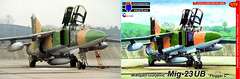 MiG-23 Surpise (Rob Schleiffert) Tags: mig23 flogger finsterwalde russianairforce