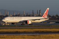 VH-VPF (rcspotting) Tags: vhvpf boeing 777300 virgin australia lax klax
