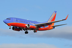 N240WN (Rich Snyder--Jetarazzi Photography) Tags: southwestairlines southwest swa wn boeing 737 737700 7377h4 b737 73g n240wn landing sanjoseinternationalairport sjc ksjc sanjose california ca airplane airliner aircraft jet plane jetliner