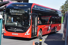 801 - BV18XZA (DavidsBuses) Tags: harrogatedistrict volvo7900e electricbus volvo 801 bv18xza bv18