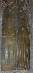 Photo of Broughton, St Mary's church brass