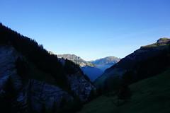 DSC01230 (Bergwandern Alpen) Tags: alpen alps bergwandern hiking tschinglenschlucht glarneralpen morgendämmerung