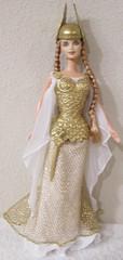 Princess of the Vikings (thetrappedartistOG) Tags: doll barbie mattel dotw viking princess dollsoftheworld