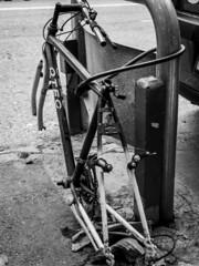 (rj.monaco) Tags: olympus omd em10 mark iii photography amateur photographer city streetphotography streephoto blackandwhite bw bike street lights