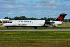 C-GJZZ (Air Canada EXPRESS - JAZZ) (Steelhead 2010) Tags: aircanada aircanadaexpress jazz bombardier canadair crj crj200 yul creg cgjzz