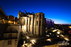 Convento do Carmo (Theo Crazzolara) Tags: conventodocarmo carmoconvent lisboa lissabon portugal europe city architecture building town night nightlife light church convent kirche destroy destroyed zerstört highlight sightseeing travel