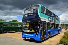 YN18SCZ (PD3.) Tags: southdown psv enviro 400 mmc scania yn18scz yn18 scz bus buses pcv horsham carfax west sussex england uk hop oast park ride