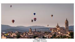 Dawn in Segovia (Ignacio Ferre) Tags: segovia españa spain comunidaddecastillayleón balloon globo amanecer dawn nikon paisaje landscape