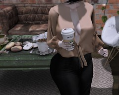 Faculty Friday (Miru in SL) Tags: secondlife sl entice saturday sale clothing top tan coffee hive kibitz ascendant pseudo