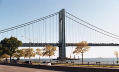 Verrazano Bridge (neilsonabeel) Tags: nikonfm2 nikon nikkor film analogue brooklyn newyorkcity verrazanobridge bridge