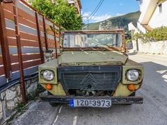 Citroen Whatsit (tubblesnap) Tags: alykes zante greece holiday vacation panasonic lumix bridge camera zakynthos old rusty citroen truck van mehari