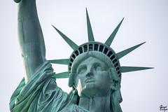 Up Close And Personal (MrStuy) Tags: newyork statueofliberty ladyliberty libertyisland statue monument