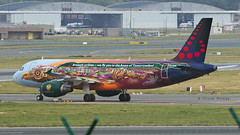 IMG_1302 SN A320 OO-SNF Tomorrowland (Olivier_Pirnay) Tags: brussels ebbr brusselsairlines airbus airbusa320 oosnf tomorrowland