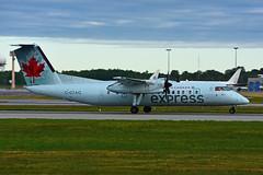 C-GTAQ (Air Canada express - JAZZ) (Steelhead 2010) Tags: aircanada aircanadaexpress jazz dehavillandcanada dhc8 dhc8300 yul creg cgtaq