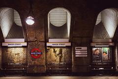 Baker Street (BenKing.Photo) Tags: london underground tube station baker street subway