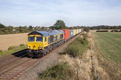 66727 at Thurston (tibshelf) Tags: thurston class66 gbrf 66727