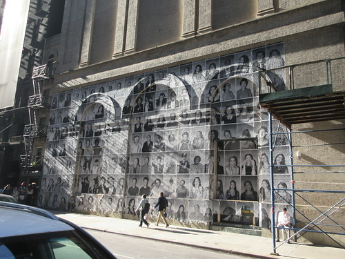 2019 Photo Mural on 45th St Jake Gyllenhaal Play Sea Wall / A Life on Broadway 1770