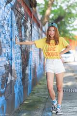 IMG_0599L (攝影玩家-明晏) Tags: 人 人像 戶外 美女 model 外拍 李岱倫 portrait pretty girl woman