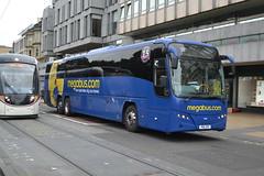 Megabus Volvo B13RT 54118 PSU371 - Edinburgh (dwb transport photos) Tags: stagecoach megabus volvo 54118 paxton panther coach psu371 edinburgh