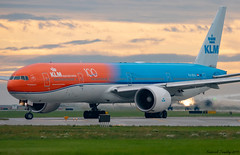 KLM / Boeing 777-306(ER) / PH-BVA / Orange Pride Livery / YVR (tremblayfrederick98) Tags: klm boeing b777 boeing777 b777300 boeing777300 phbva takeoff vancouver yvr aviation avgeek airplane avporn