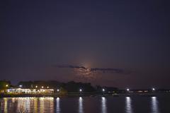 Lakeside (Michael Gavin Mallory) Tags: texas night nighttime lake cedarcreeklake hdr fullmoon gunbarrel gunbarrelcity hendersoncounty boat boats light water